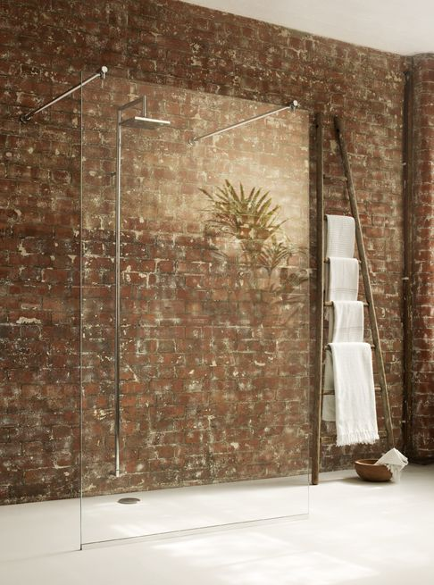 Mistley Bathroom Glass :: Wet Room Panels - Oona - Stand Alone Panel