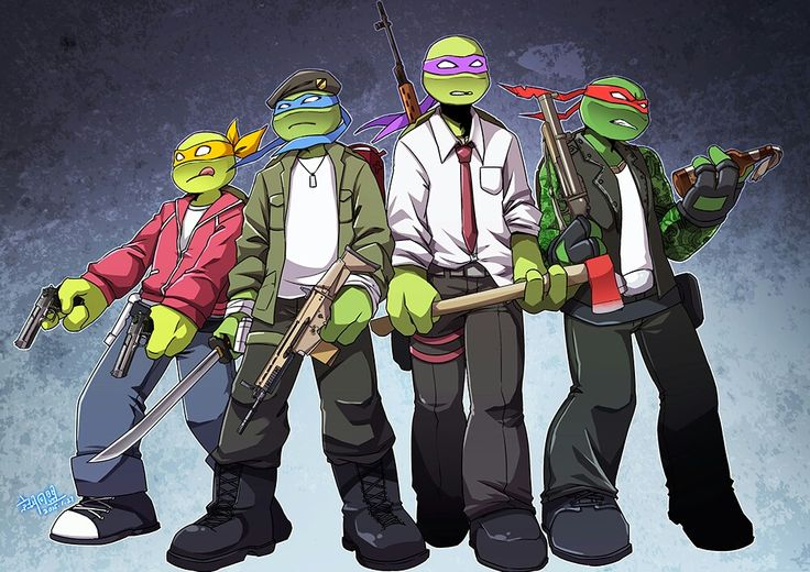 Left 4 Dead and TMNT