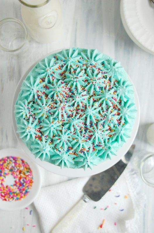 Funfetti Celebration Cake