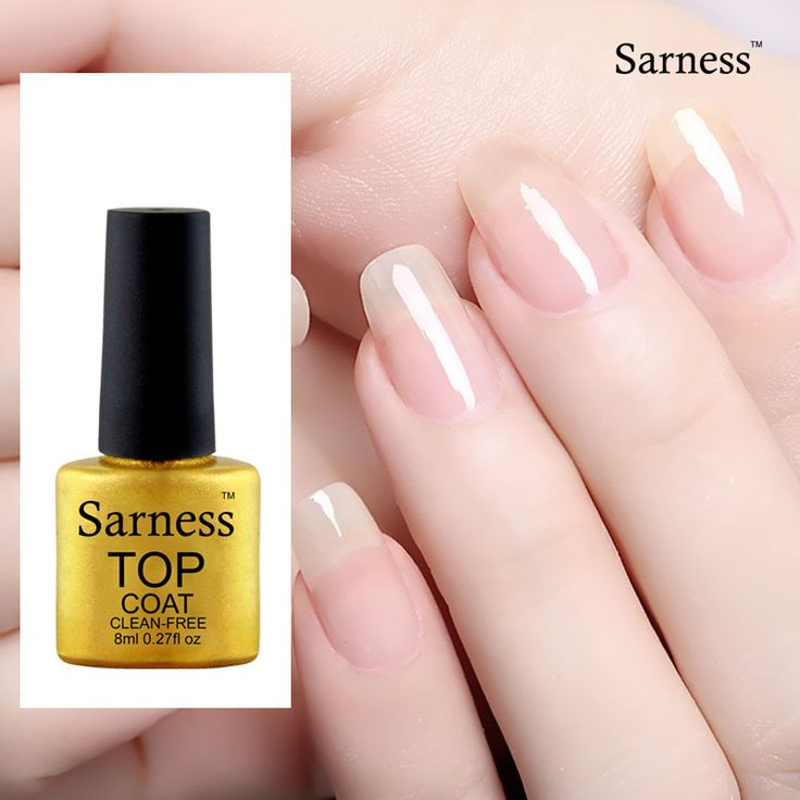 Sarness Gel Varnish Primer Top Coat and Base Coat UV LED Long-lasting UV Gel Nail Polish Nails Gel Lacquer Polish 8ml #Affiliate