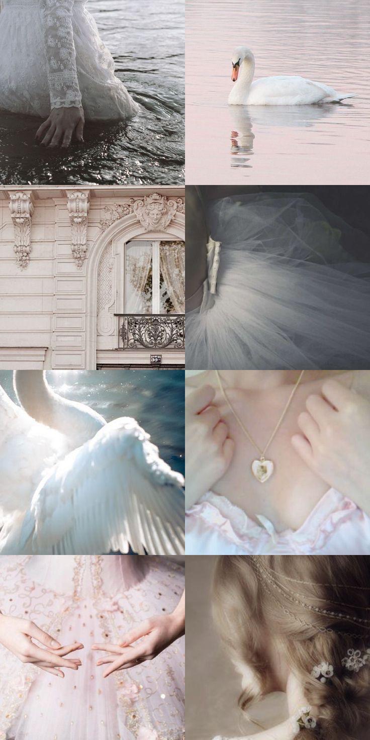 swan princess aesthetic not of disney princess