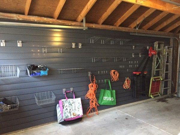 Diy Garage Storage Project Proslat Slatwall Garage Diy Garage Slat Wall