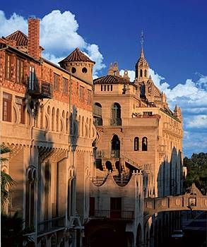 Andrew Carnegie and Albert Einstein stayed here.  The Mission Inn Hotel and Spa