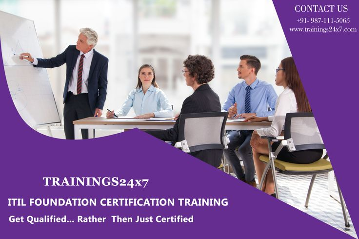ITILFoundation Certification get qualified rather then justified. come with Trainings24x7. What's Included in the Training Trainings24x7 ITIL® 2011 Foundation Handbook Real ITIL® Foundation Exam on the 2nd Day of the Training Hard Copy ITIL® 2011 Foundation Training Attending Certificate Visit Here : http://trainings24x7.com/itil-foundation-training-in-delhi-ncr/