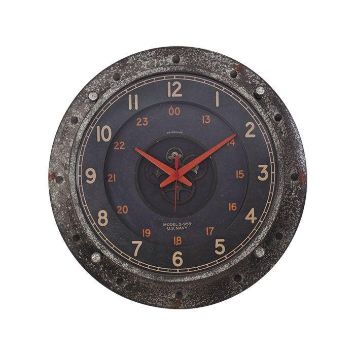 Control Room Wall Clock Pendulux Wall Clock Clock Roman Numeral Wall Clock