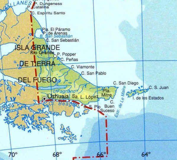 Best Patagonia Y Tierra Del Fuego Images On Pinterest Fire - Argentina map tierra del fuego