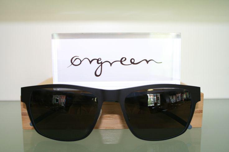 Orgreen North Sunglasses in Mat Black