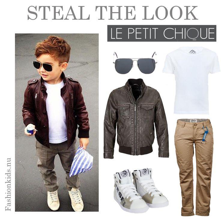 Steal the Look: voor de stoere jongens | Le Petit Chique