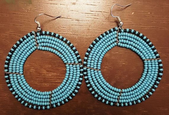 Check out this item in my Etsy shop https://www.etsy.com/listing/494800646/gift-items-beaded-earrings-african