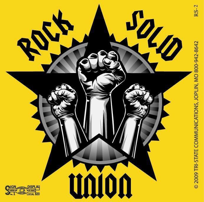 Rock solid union Logo design, Martin luther king jr, Rock