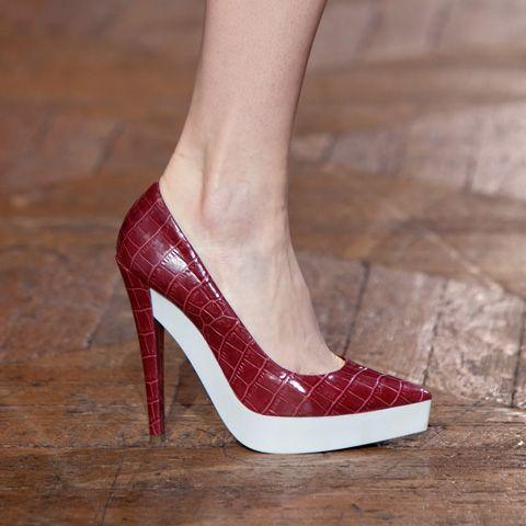 Stella McCartney: Mccartney Stella, Mccartney 2012, Red Shoes, Platform Pumps, Fall 2012, White Paintings, Stellamccartney, Stella Mccartney Shoes, Shoes Heels