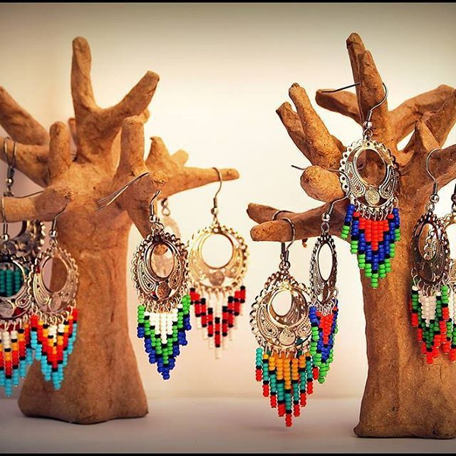#oldcollection#stillavailable#earrings#colorful#latelierdelilswan