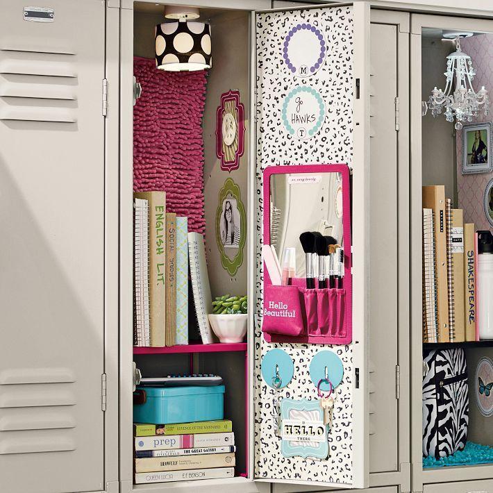 25 Diy Locker Decor Ideas For More Cooler Look Diy Furniture Ideas
