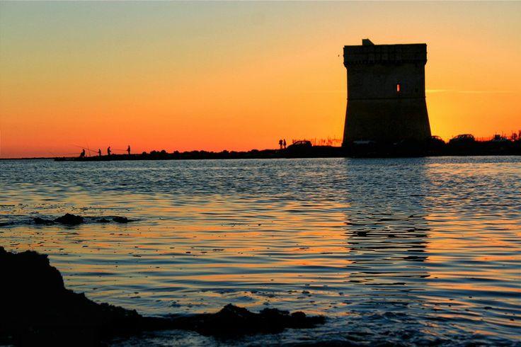 Tramonto Torre Chianca (Porto Cesareo) by Emanuele Mont Girbés on 500px
