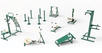 outdoor gym equipment, commercial fitness equipment perfect for any parks