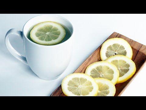 Agua tibia con limon antes de dormir - Agua con limon para bajar de peso - YouTube