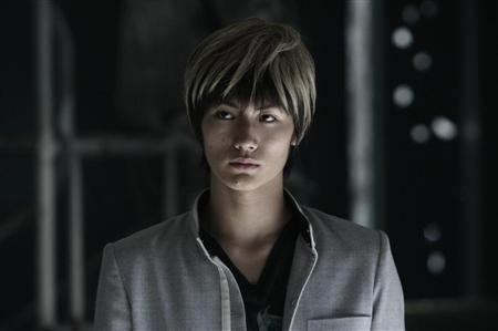 "Miura Haruma (三浦 春馬) as Tatsuya Bito in the film ""Crows Zero II"""