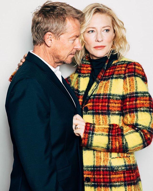 Cate Blanchett and Richard Roxburgh for The New York Times | December 21, 2016. #ThePresent #cateblanchett