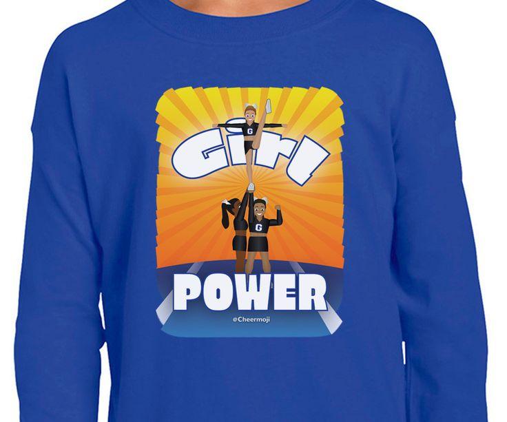 Girl Power - Youth Cheerleading Shirt