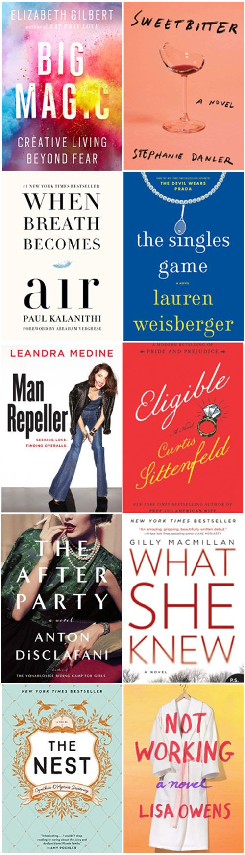 10 books to read this summer.