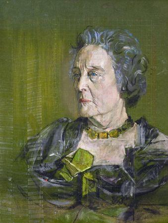 Mrs Ramsey Hunt, by Graham Sutherland. 1959