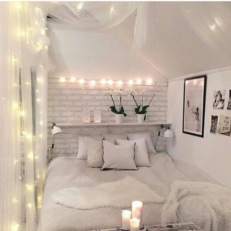 Most popular tags for this image include bedroom home room white and light find this pin and more on bedroom fairy lights