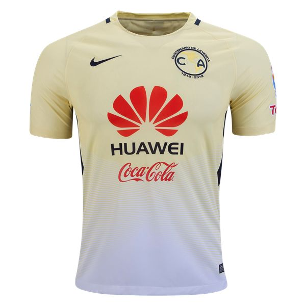 Club America 16/17 Home Soccer Jersey  | $89.99 | Holiday Gift & Stocking Stuffer ideas for the Club America fan at WorldSoccerShop.com