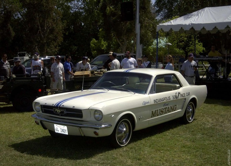 1964 Ford Mustang. Find parts for this classic beauty at http://restorationpartssource.com/store/