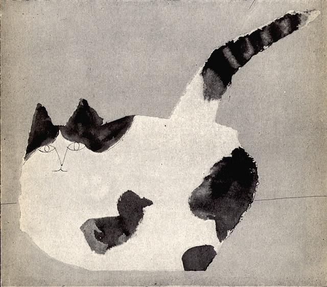 Saul Steinberg – Cat