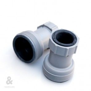 Conectores para depuradora con mangueras de 38 mm (11/2') de Kokido