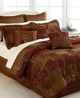 Croscill Bedding, Galleria Comforter Sets - Croscill - Bed & Bath - Macy's.  bought this last night and its beautiful!