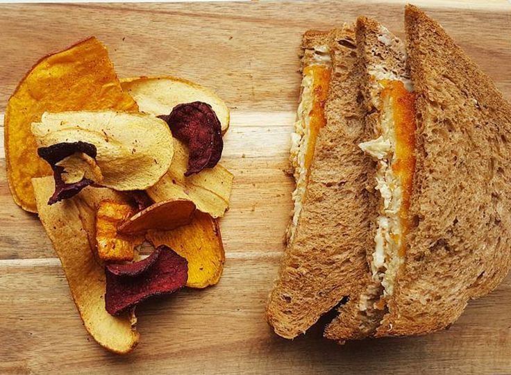Easy and tasty veggie chips