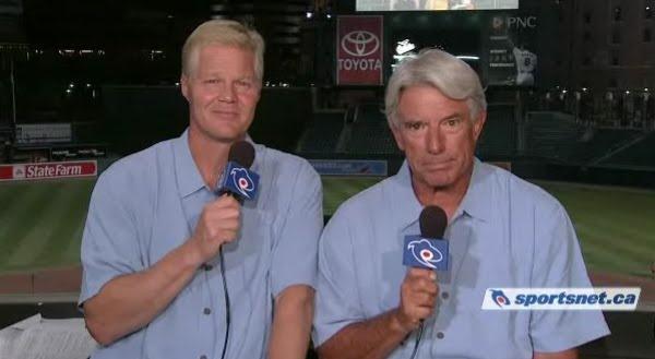 Pat Tabler & Buck Martinez