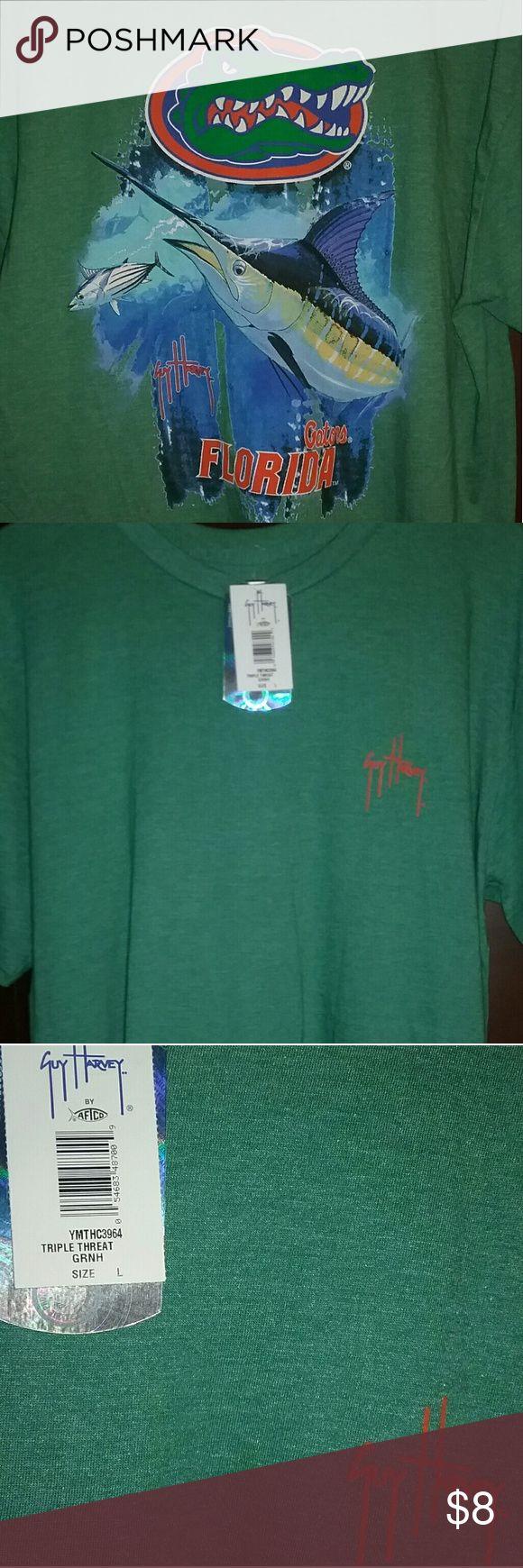 🎁New Guy Harvey Tee!🎅 Nice. Bright. Guy Harvey Shirts Tees - Short Sleeve