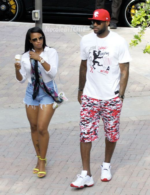 Photos: LeBron James & Savannah Brinson Ice Cream Date | Robert Littal Presents BlackSportsOnline