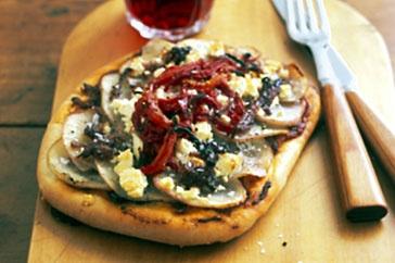 Potato and feta pizza main image