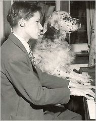 Glenn Gould 16 pictured with his dog Film - A Documentary About the Pianist Glenn Gould - NYTimes.com