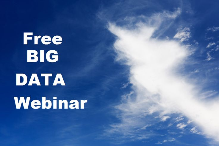 Here's a free recording of our 'Everyone's Talking Big Data' digital marketing webinar, enjoy!