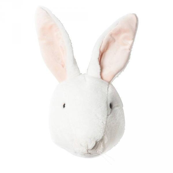 dierenkop konijn wit