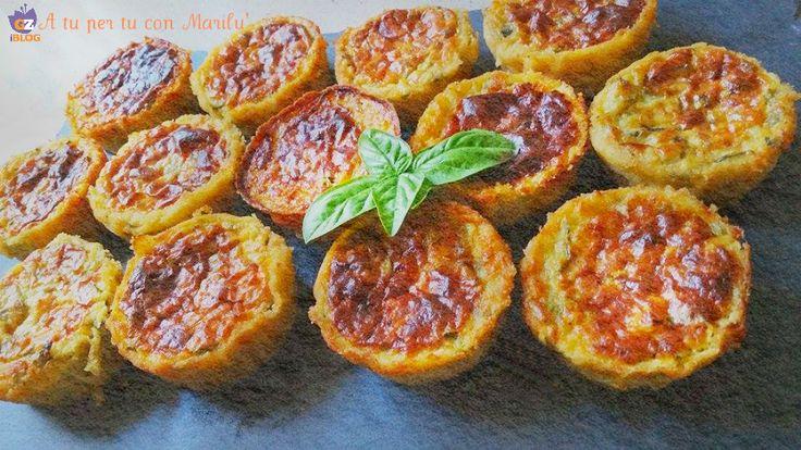 Gli sformatini zucchine e stracchino sono facili da preparare, si preparano con pochi ingredienti e sono un'idea carina per l'antipasto o un secondo piatto