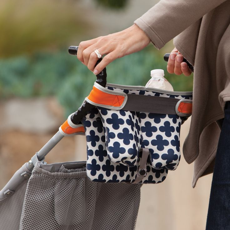 Stretch™ - New! - Infantino - storage for an umbrella stroller - this would be pretty easy to make it yourself
