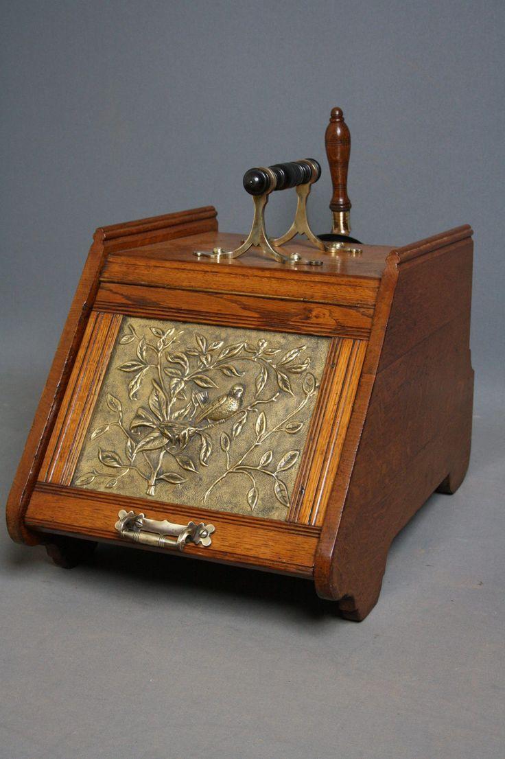 73 best coal scuttle images on pinterest antique furniture