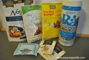 Little Life Box vegan food box content for June 2015