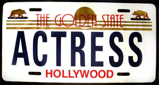 Steve Kaufman Prints for sale - Actress  More info: https://www.artetrama.com/en/artworks/steve-kaufman-actress  #stevekaufman #popart #carplate #actress #canvas #silkscreen #fineart #prints