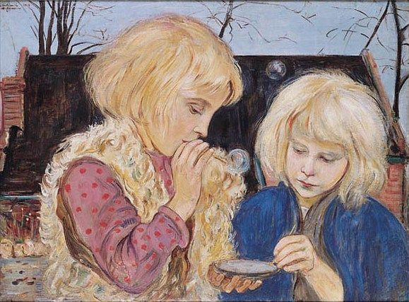Soap Bubbles, Allegory of Vanitas - Vlastimil Hofman