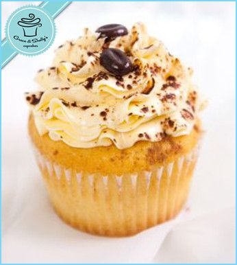 Tiramisu cupcake - via @Grace & Shelly's Cupcakes