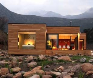 Eco Friendly Home And A Gorgeous Backdrop To Boot.