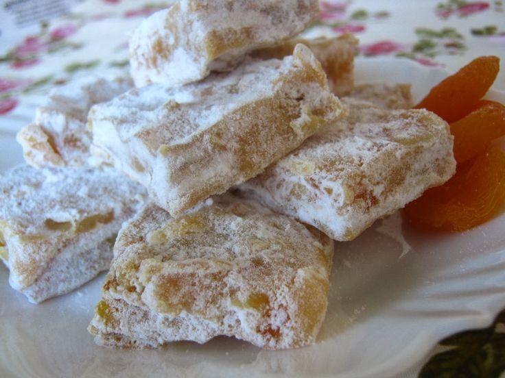 Palha italiana dourada de damasco ~ ... é de comer?