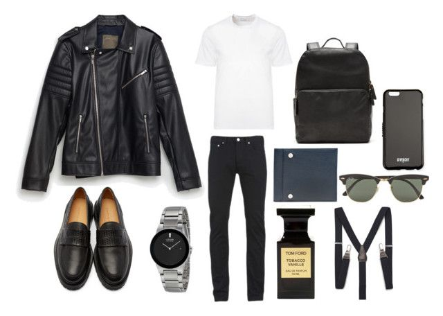 """For men"" by dobrayaprosto ❤ liked on Polyvore featuring Zara, Carven, Banana Republic, Balenciaga, Tom Ford, Ray-Ban, Givenchy, Versace, Paul Smith and men's fashion"