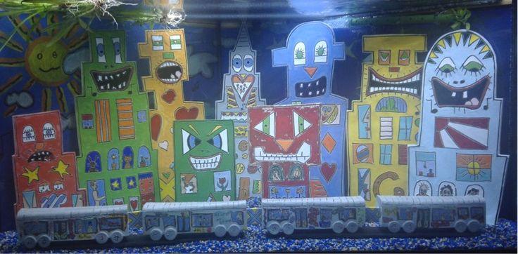 Aquarium Zubehör Dekoration Rizzi Innengestaltung von Pottery Cottage - Tonkunstobjekte voller Emotionen auf DaWanda.com